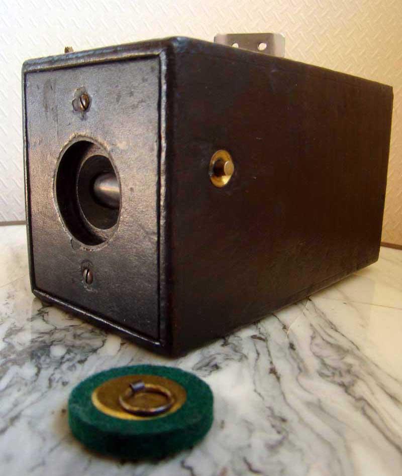 Declic Jaune, collection d'anciens appareils photo kodak